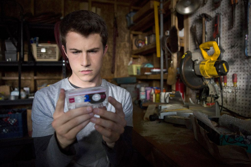 "Dylan Minnette as Clay Jensen in ""13 Reasons Why."" (Beth Dubber/Netflix)"