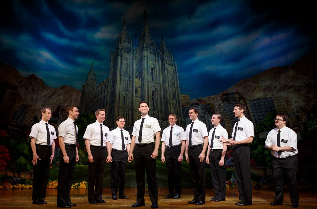 The Book of Mormon, was presented by AT&T Performing Arts Center at Winspear Opera House as part of the company's Broadway Series in 2016. It will be at Fair Park Music Hall Jan. 29-Feb. 3.