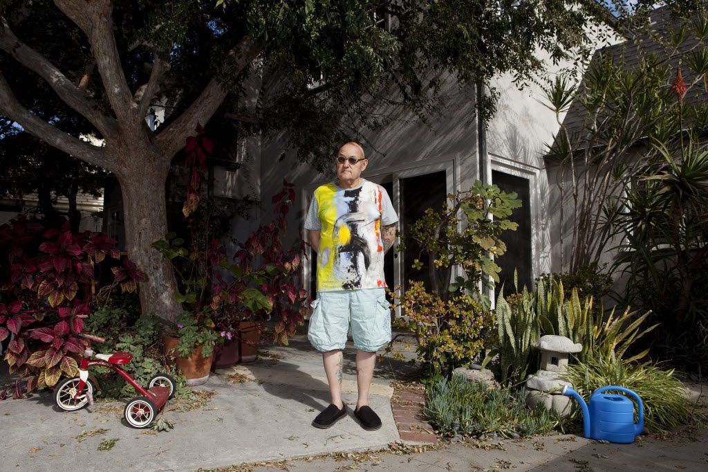 The writer David Ritz at home in Los Angeles, Oct. 30, 2014.