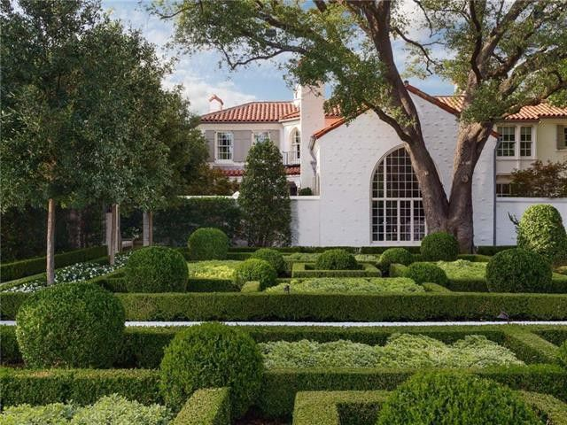 The historic Highland Park estate is on Beverly Drive.
