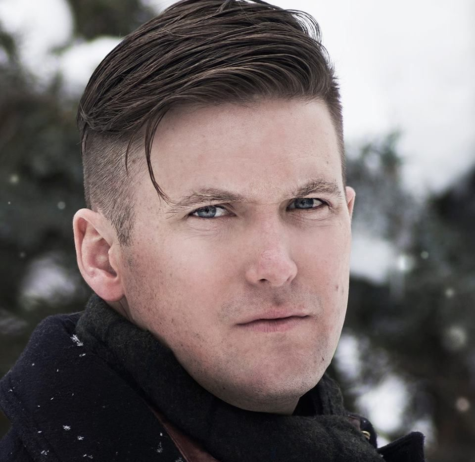 Richard Spencer, 38, a Dallas native and a graduate of St. Mark's School of Texas prep school, now lives in Montana.