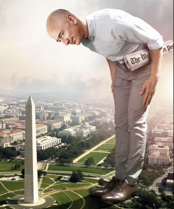 Jeff Bezos and his Washington. D.C.. life is the cover story of the May 2018 Washingtonian magazine