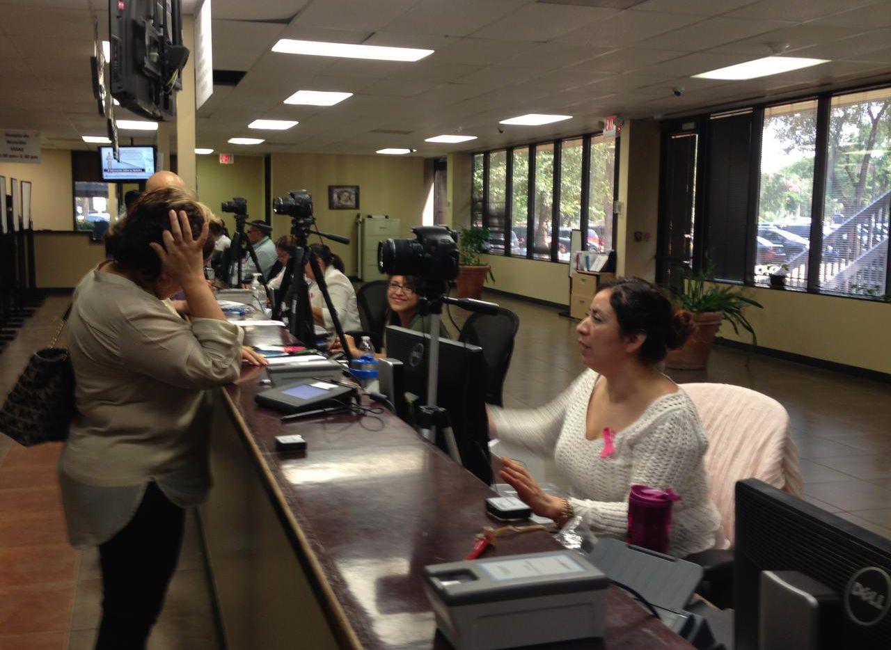 El consulado mexicano ofrece servicios y trámites en Rockwall, Fort Worth, Abeline, y otras ciudades de Texas, que están lejos de su sede en Dallas. (AL DÍA/KARINA RAMÍREZ)
