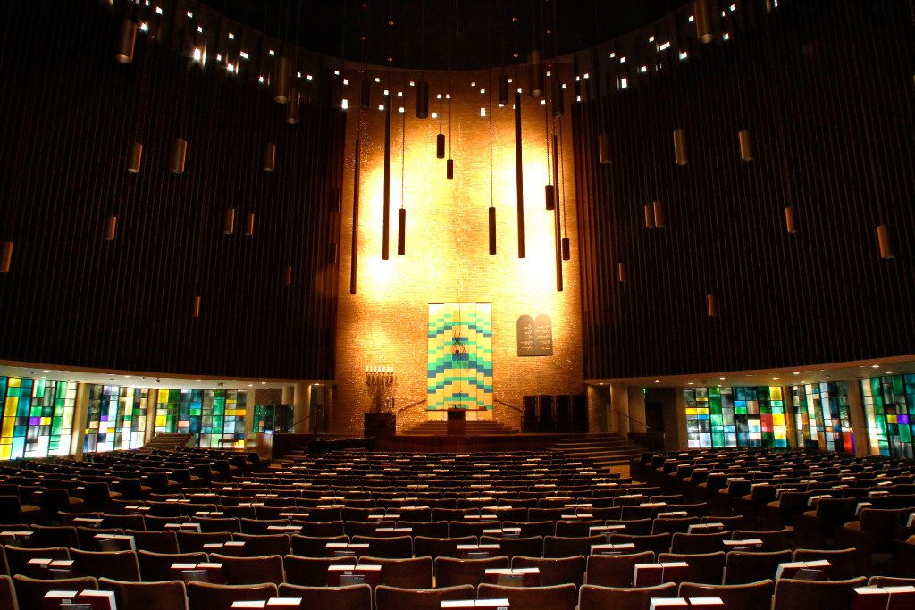 The Olan Sanctuary at Temple Emanu-El is one of two chapels restored recently through a capital campaign, Our Temple Our Future.