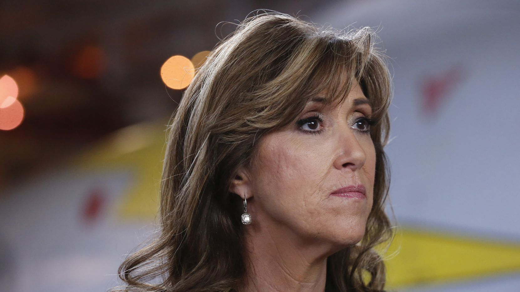 Southwest Airlines Capt. Tammie Jo Shults in an interview with ABC's 20/20 set to air Friday night.  (ABC/Heidi Gutman)