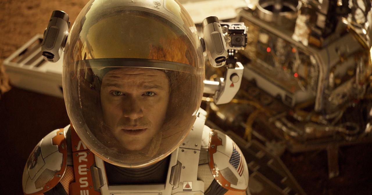 "Matt Damon se las ingenia para sobrevivir en Marte en ""The Martian"". (AP/20th CENTURY FOX)"