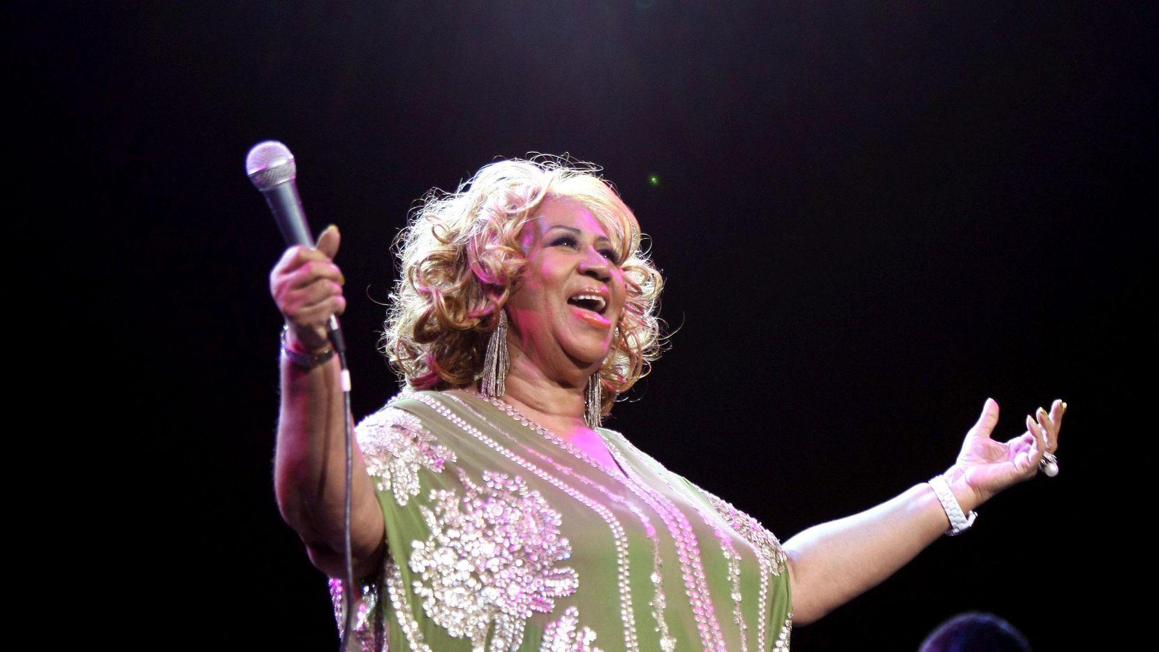 """Aretha Franklin, la """"Reina del Soul"""", falleció el jueves a los 76 años. (Getty Images/Neilson Barnard)"""