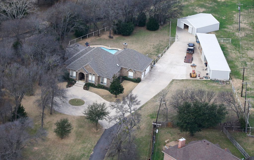 The former home of Grand Prairie ISD Superintendent Susan Hull in Grand Prairie. The district bought the property for almost $700,000 and spent another $160,000 in renovations without getting board approval. She recently moved out.