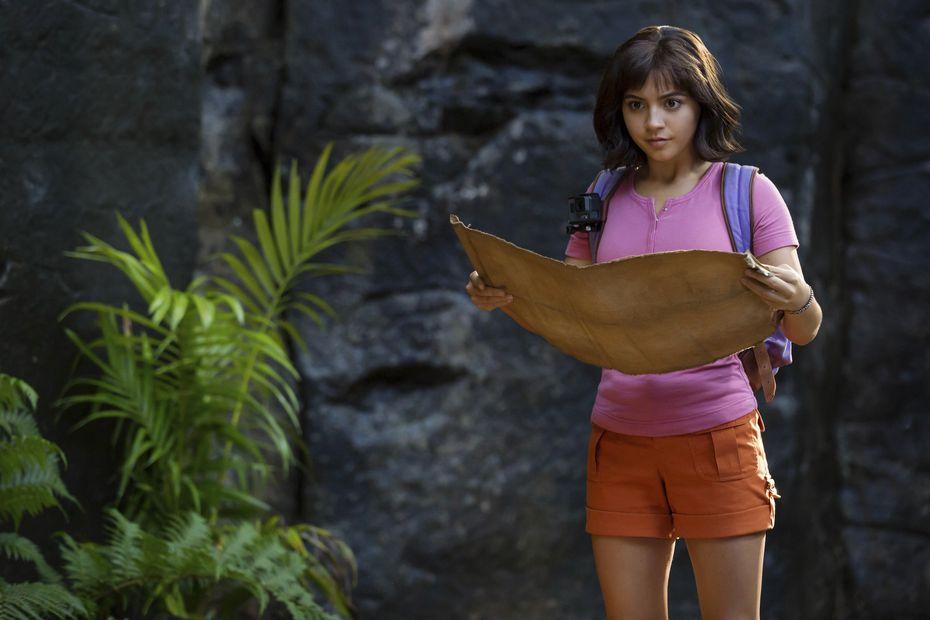 """Isabela Moner en """"Dora and the Lost City of Gold""""."""