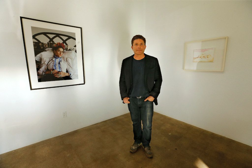 Kenny Goss is pictured at the Goss-Michael Foundation on Wycliff Avenue in Dallas, photographed in Dallas on Thursday, February 23, 2017. (Louis DeLuca/The Dallas Morning News)