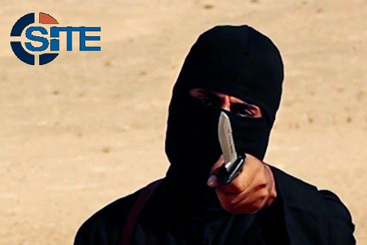 """Una imagen del terrorista conocido como """"Yihadi John"""" que habría sido el objetivo de un ataque con dron. No se ha confirmado su deceso.(AP)"""