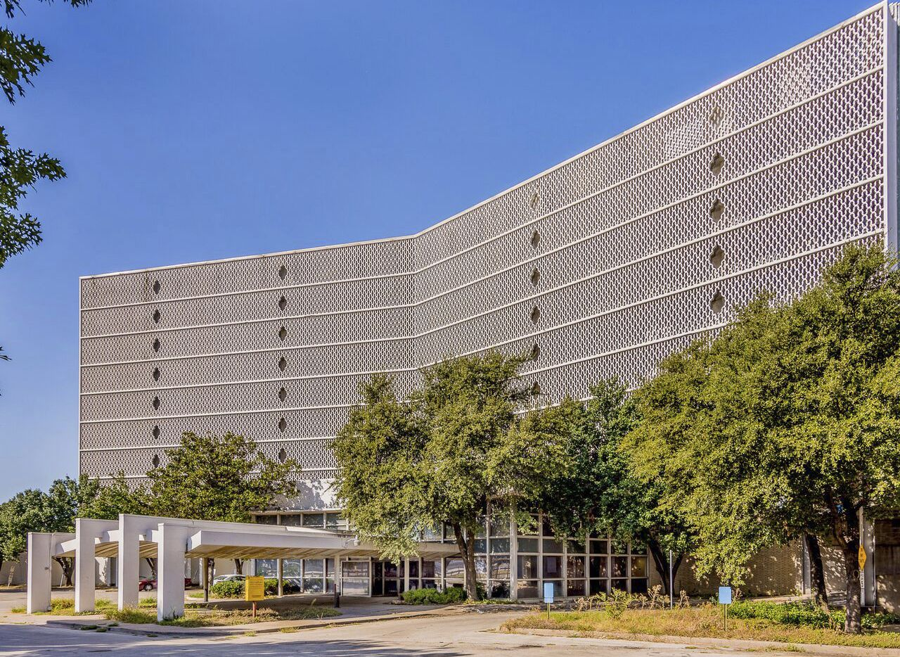 CABANA MOTOR HOTEL, 899 Stemmons Freeway, is being purchased by a developer who wants to restore the building.