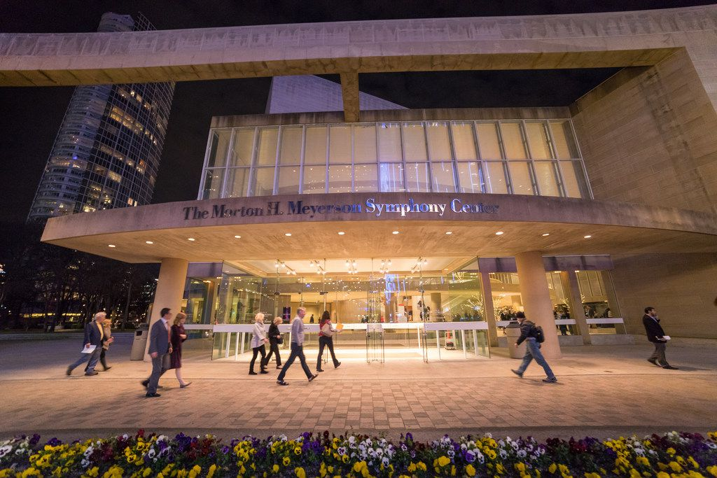 The Morton H. Meyerson Symphony Center was designed by I.M. Pei in 1989.