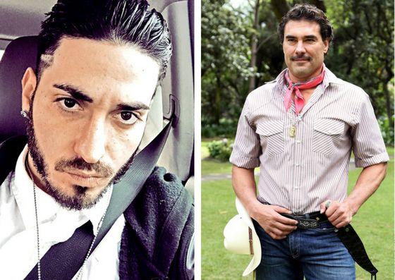Eduardo Yáñez García utilizó su cuenta de Twitter para despotricar contra su progenitor, protagonista de numerosas telenovelas como Destilando Amor y Fuego en la Sangre./ AGENCIA REFORMA