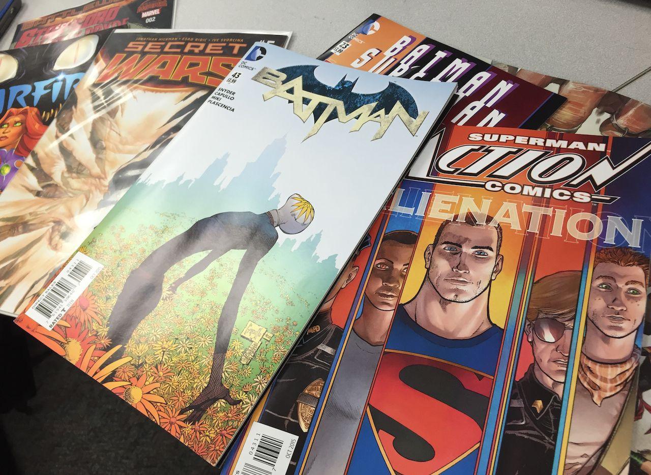 This week's comics