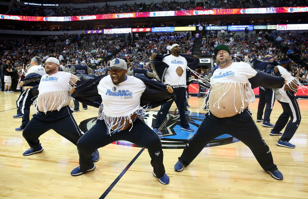 The Mavs ManiAACs, in a 2017 performance, are also in discussions with CEO Cynthia Marshall about any concerns that might exist in their routines.