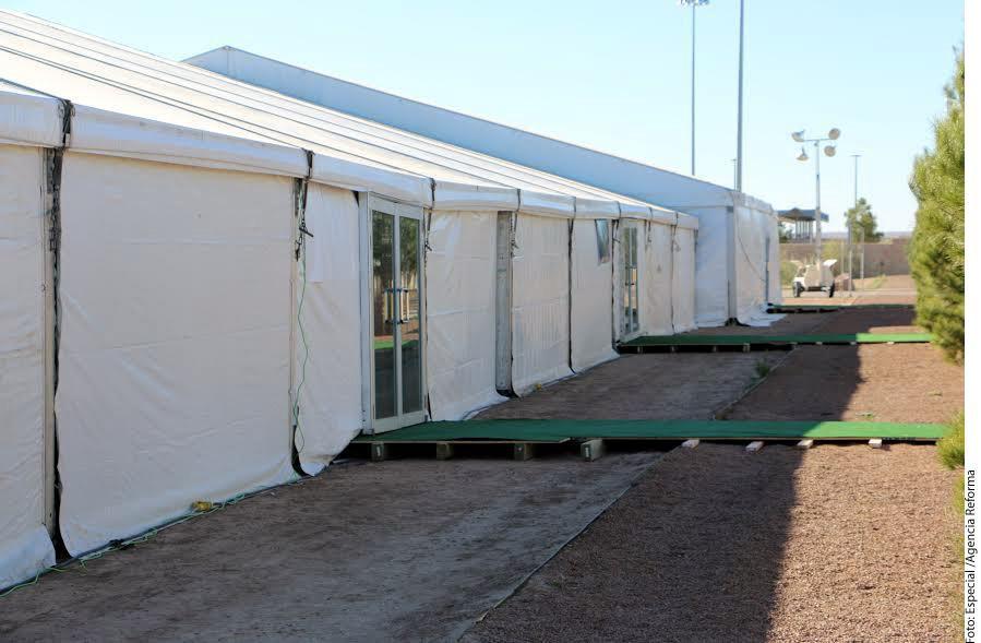 El Gobierno de Estados Unidos instaló en 2014 un centro de detención temporal en el puente internacional de Tornillo-Guadalupe, al oeste de Texas, con una capacidad inicial para 500 migrantes indocumentados.