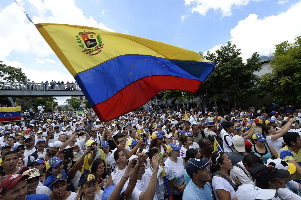 Hoy 1 de septiembre  se realizó una marcha  por Caracas convocada por la oposición./GETTY IMAGES