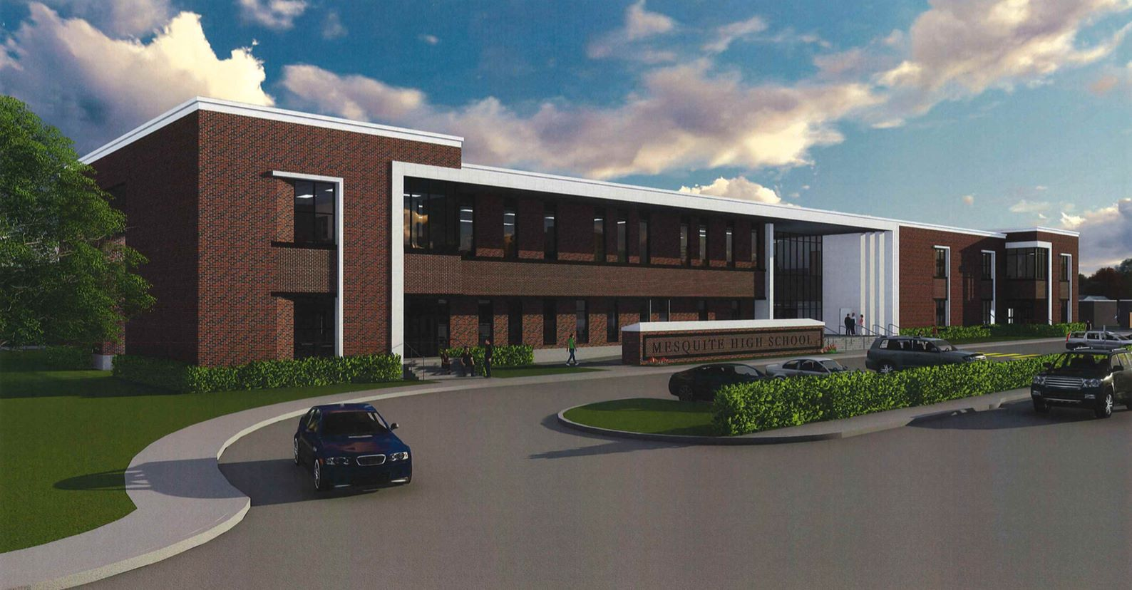 Mesquite High School will undergo an $18 million renovation starting in March.