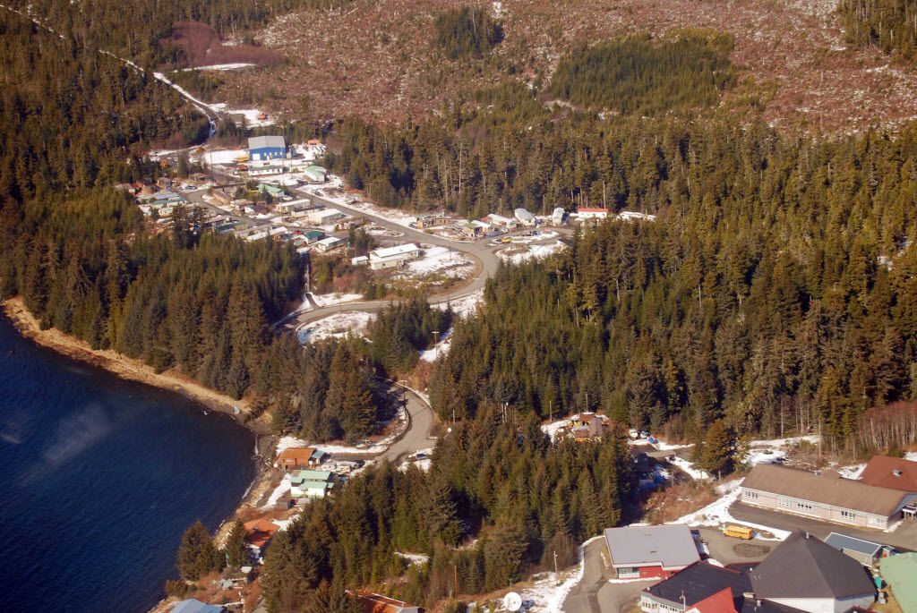 Kake, Alaska, a former logging and fishing boomtown on Kupreanof Island in Southeast Alaska,  has shrunk to less than 500 residents. The town hopes a new U.S. Forest Service approach to logging in the Tongass National Forest will provide new jobs and protection for nearby wildlife.