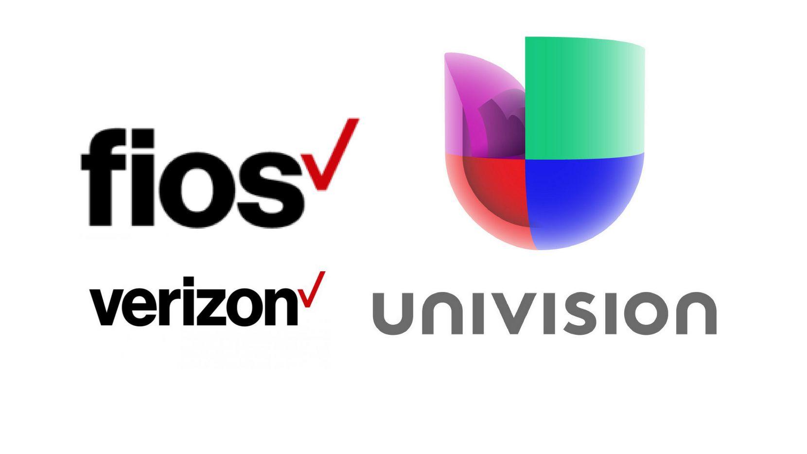 Verizon y Univision están en una batalla legal.