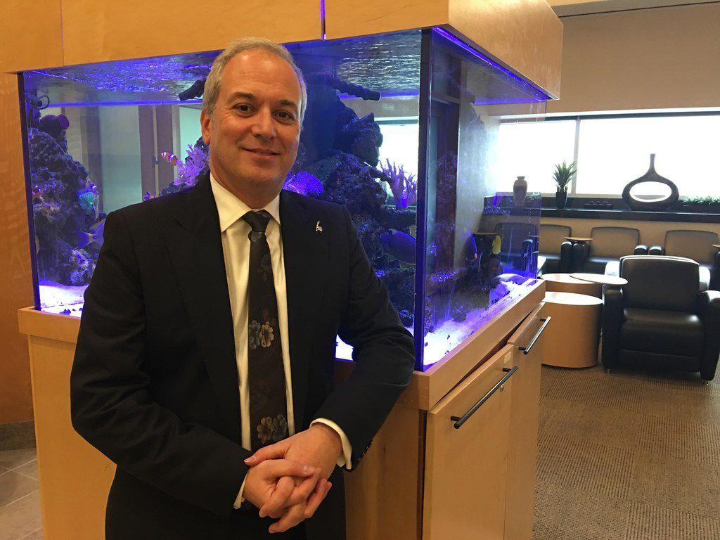 Eric Odone, senior vice president of the Americas for Qatar Airways.