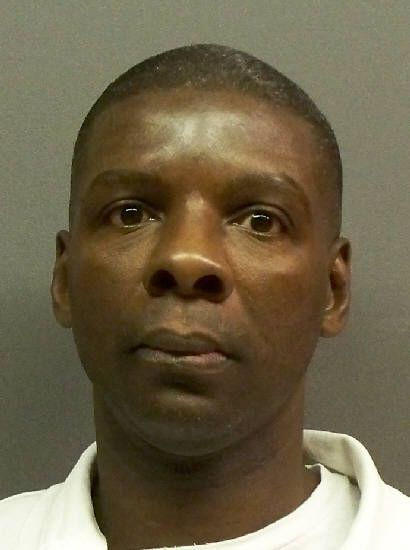Johnny Roland Glover during his stint in Texas prison, in April 2010