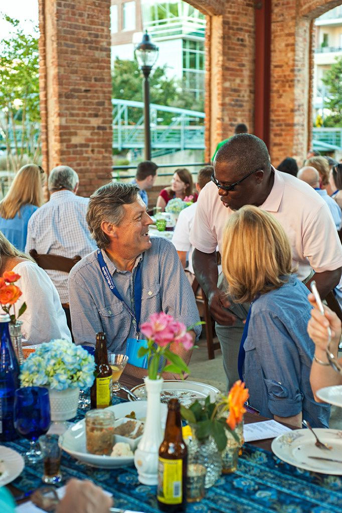 Sunday Supper during Euphoria Greenville food festival