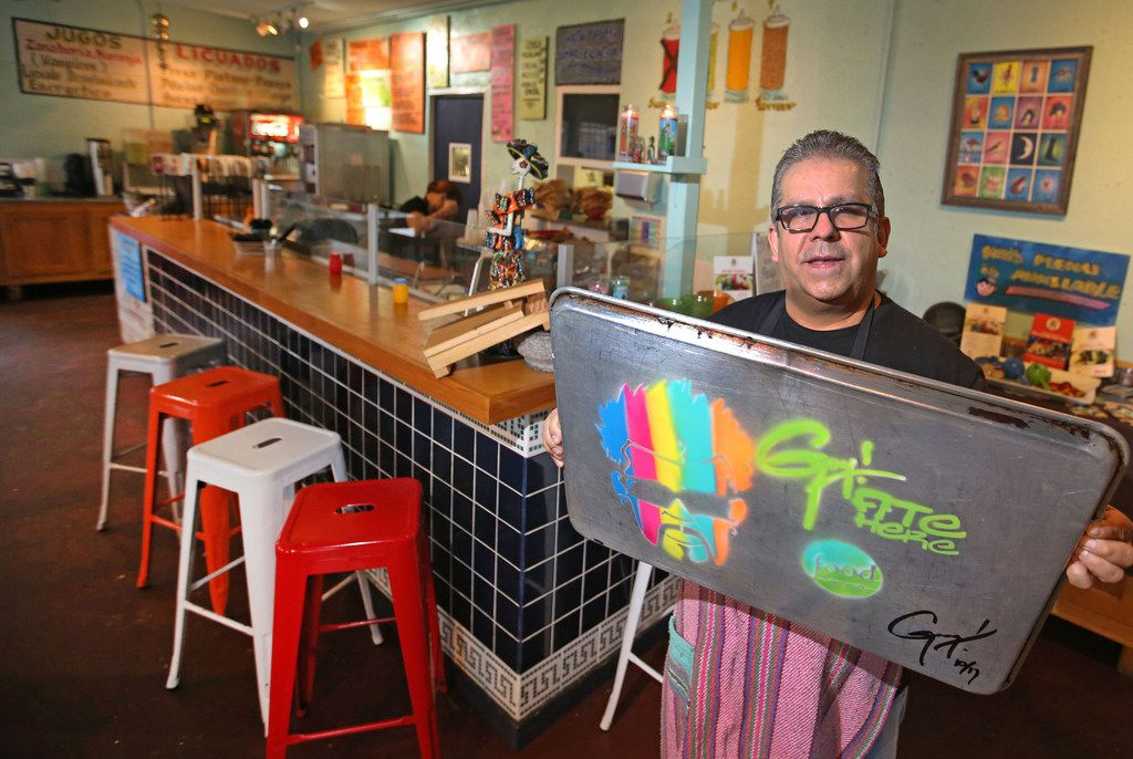 Jesus Carmona is the owner of Tacos Mariachi, which is one of six restaurants featured on Guy Fieri's Diners, Drive-Ins and Dives on Food Network in early 2018.