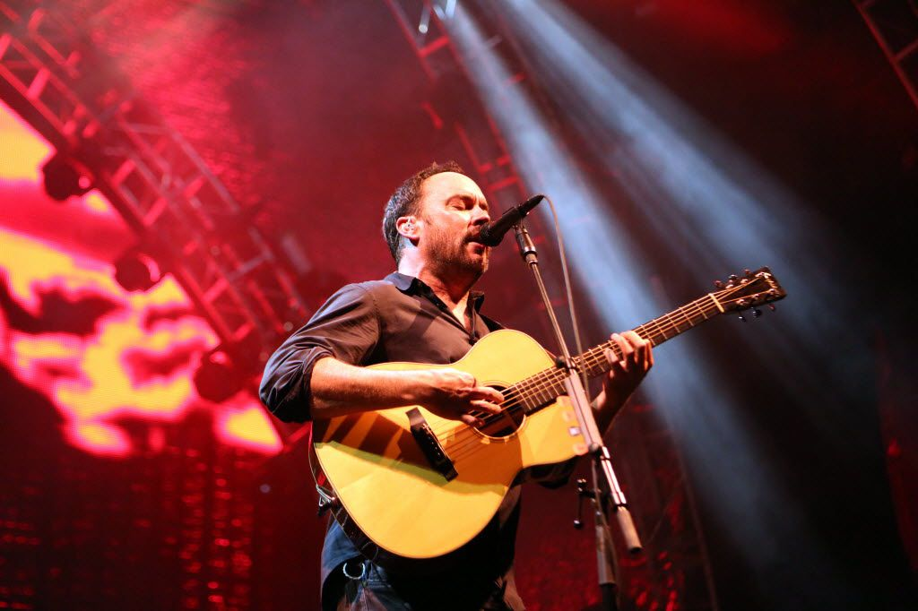Dave Matthews performs with his band at Gexa Energy Pavilion at Fair Park in Dallas, Texas, Friday, May 15, 2015. (Allison Slomowitz/ Special Contributor)