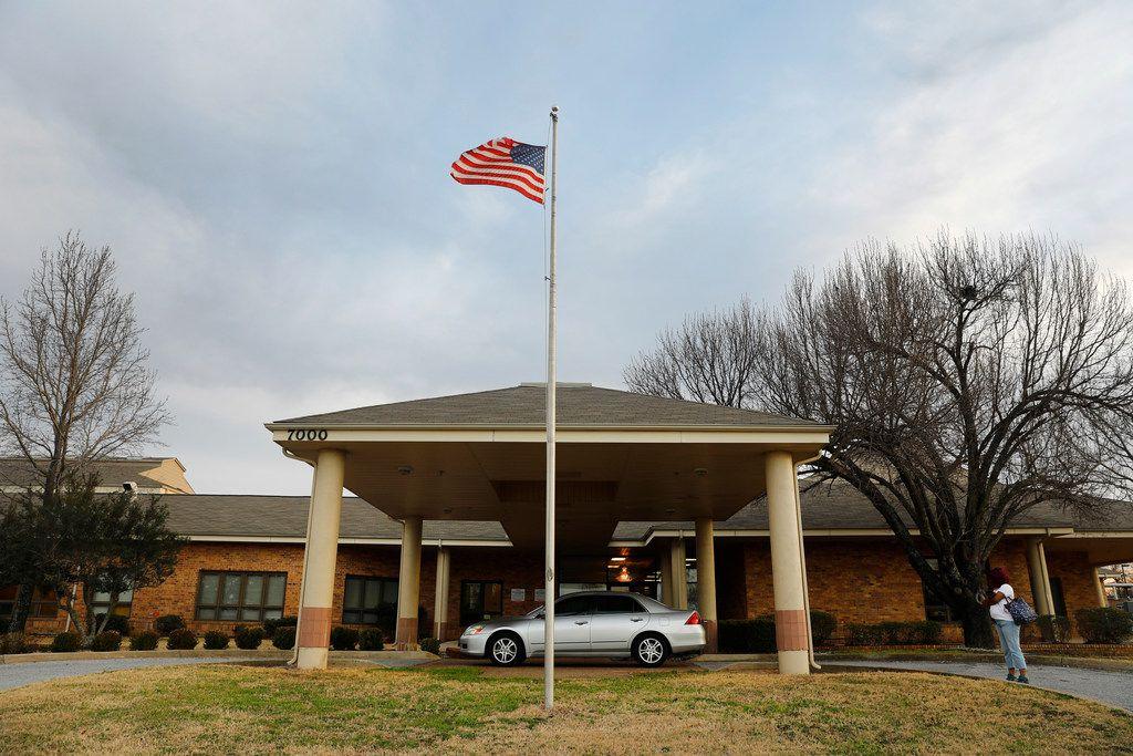 Sundance Behavioral Healthcare on the U.S. Highway 287 frontage road in Arlington.