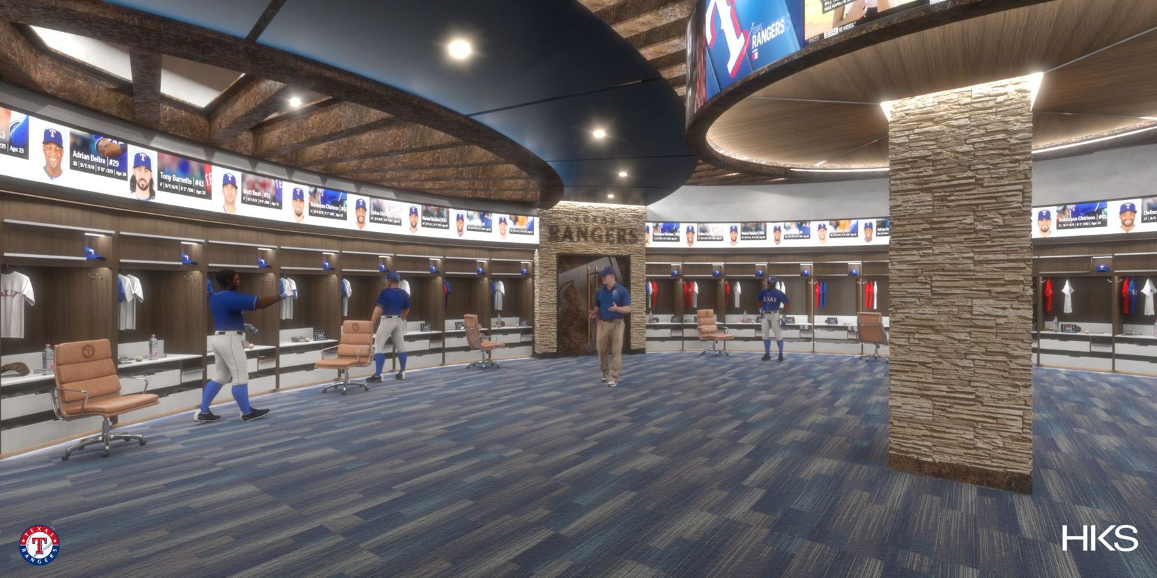 Rangers unveil new renderings for Globe Life Field