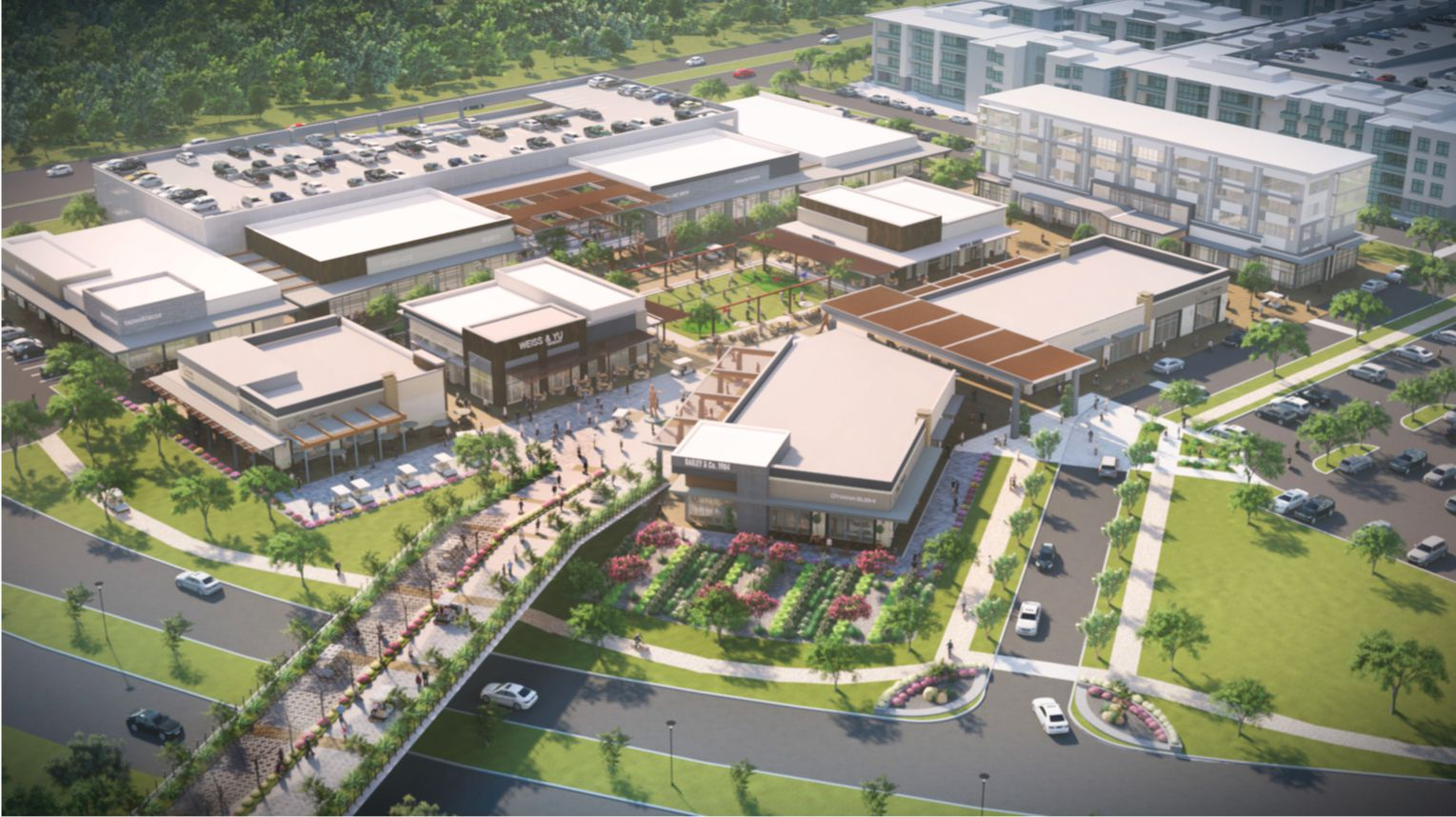 Stillwater Capital, DSF Capital and investor Stephen Summers plan to develop a 250-acre mixed-use project on Legacy Drive south of U.S. Highway 380.