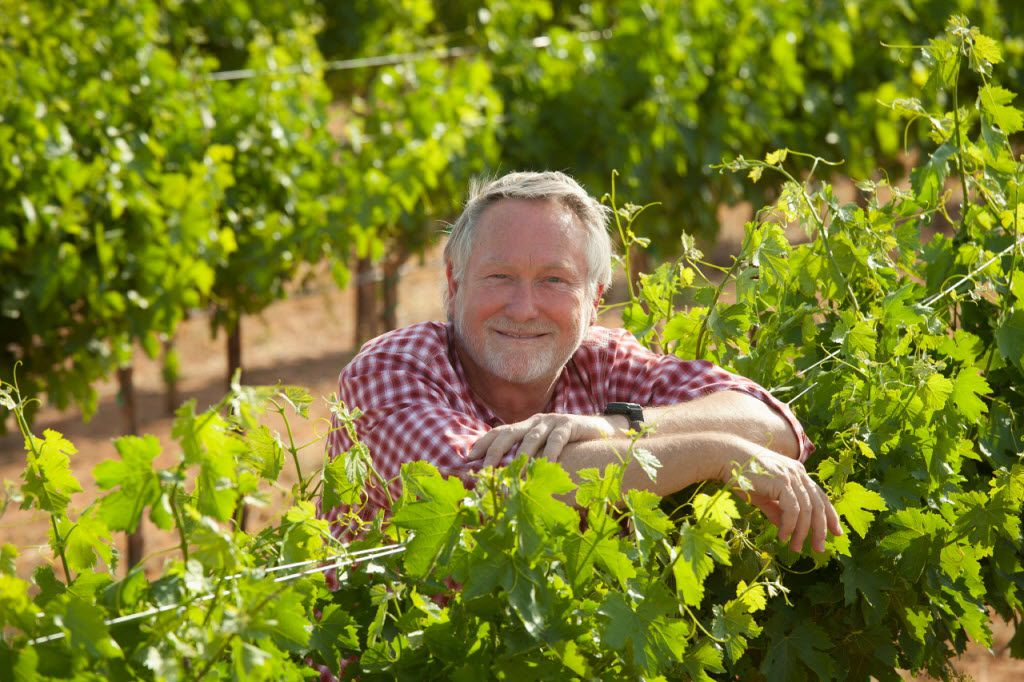 Winemaker Kim McPherson of McPherson Cellars in Lubbock, part of the Texas High Plains AVA.