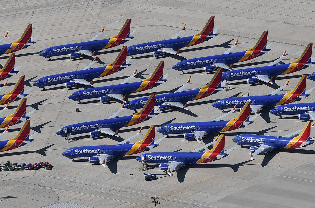 Southwest operated 34 Max jets when the FAA grounded the planes in March, but was scheduled to get another 44 planes during 2019.