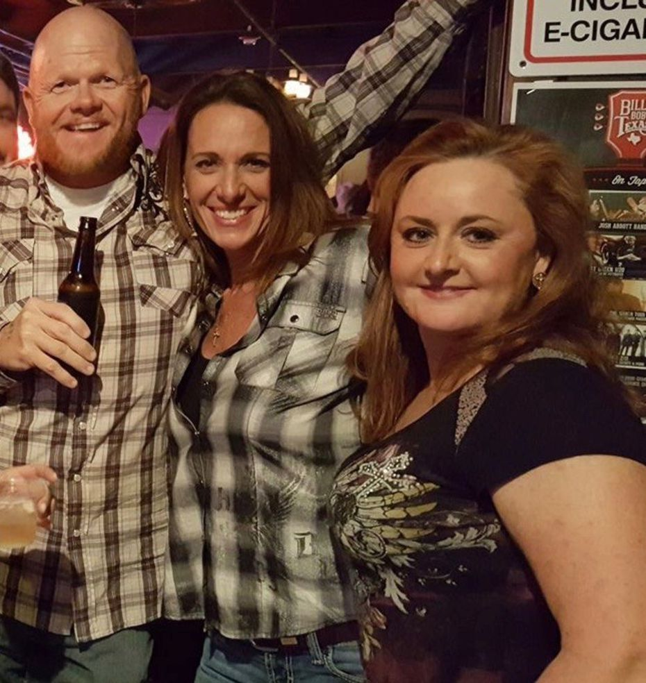 Robert and Cathy Lindsey and Susan Law (right) partied at a January 2017 concert at Billy Bob's Texas in Fort Worth.
