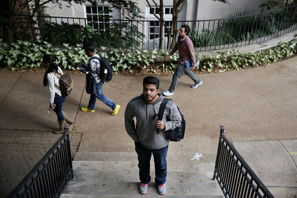 Syed Rizvi, a Southern Methodist University senior, is the past president of the Muslim Student Association and a Pakistani immigrant. Now a U.S. citizen, Rizvi worries about the future of other Muslim immigrants and refugees in a Trump presidency. (Andy Jacobsohn/Staff Photographer)