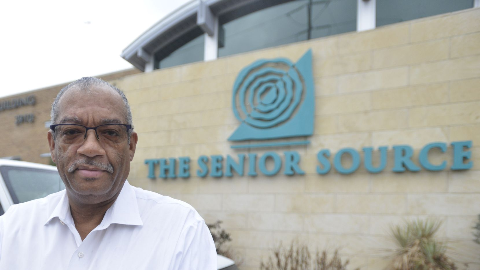 Volunteer coordinator at the Senior Source in Dallas, Michael Dade also drives the organization's van. Dade retired after caring for his dying mother.