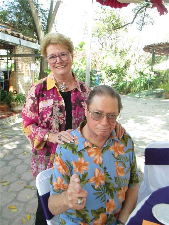 Former Dallas residents Ed and Karen Cage live in Ajijic, Jalisco. The Trump supporters will vote absentee from Mexico.