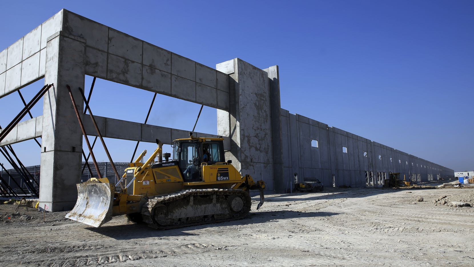 About 20 million square feet of warehouse space is being built in North Texas.