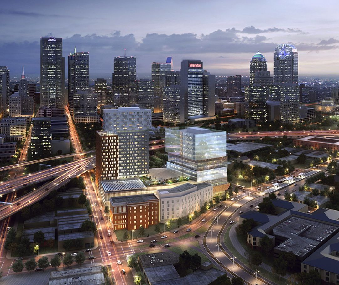 The Epic development is planned at Gaston and Good-Latimer on downtown's near east side.