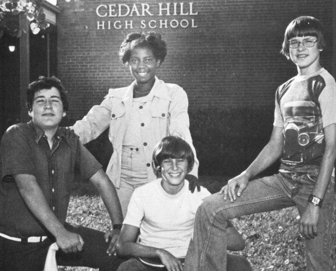 Dana Lacy Poteet was a student council officer at Cedar Hill High School in the 1970s, a cheerleader and a star athlete.