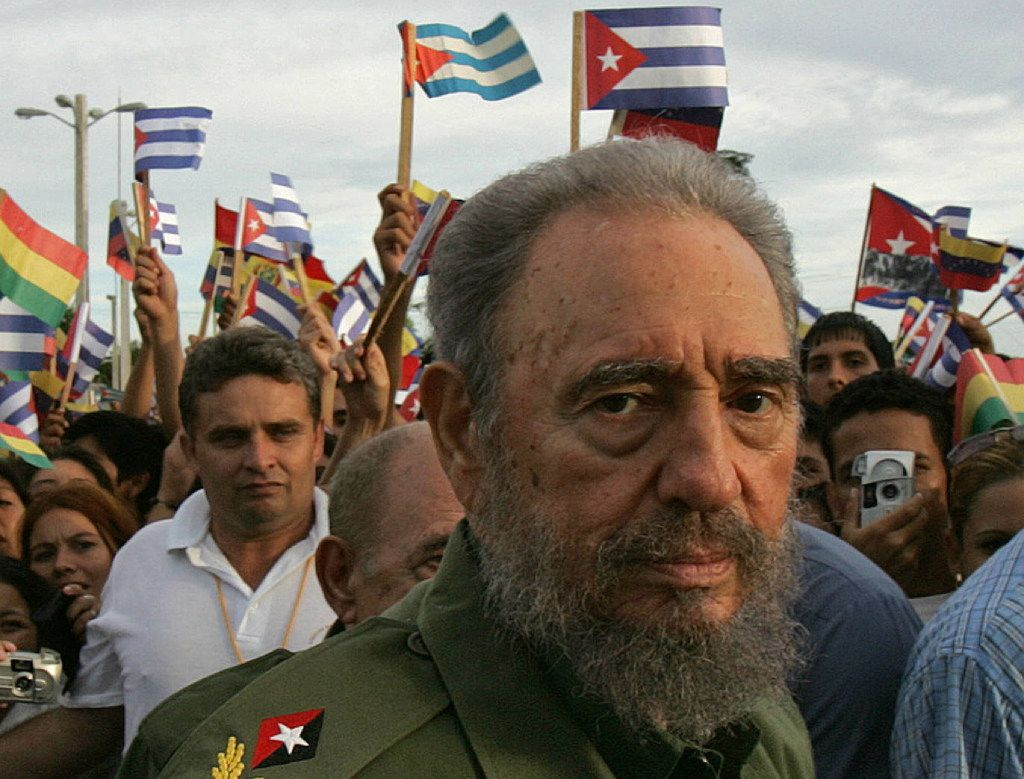 In this July 26, 2006 file photo, Cuban President Fidel Castro visits the city of Holguin during the inauguration of an electricity generating plant, as part of the ceremony marking the 53rd anniversary of the assault on the Moncada barracks by rebels led by Castro.