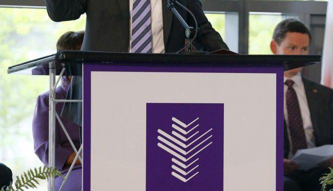 Fred Cerise, presidente del hospital Parkland de Dallas, habla sobre el futuro de la institución. (DMN/TOM FOX)