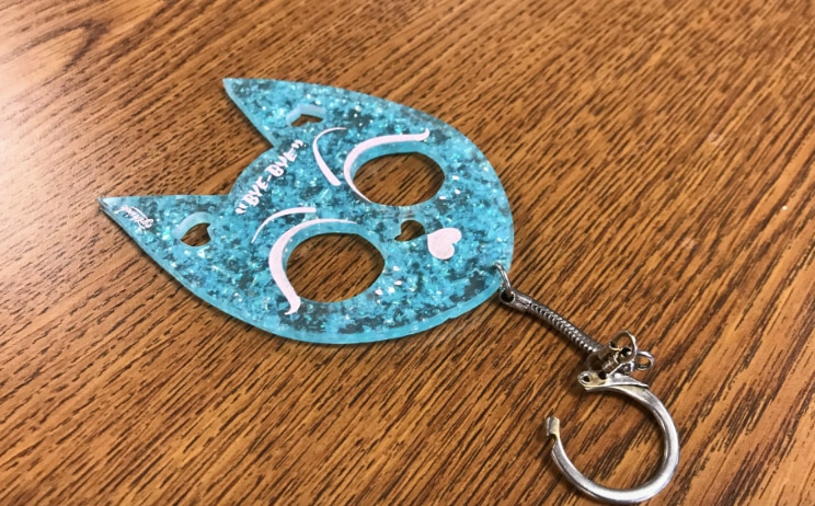 Kitty key chains like this are illegal under the state's ban on brass knuckles. This ban will be lifted on Sept. 1, 2019, after Gov. Greg Abbott signed a bill into law that also legalizes clubs.