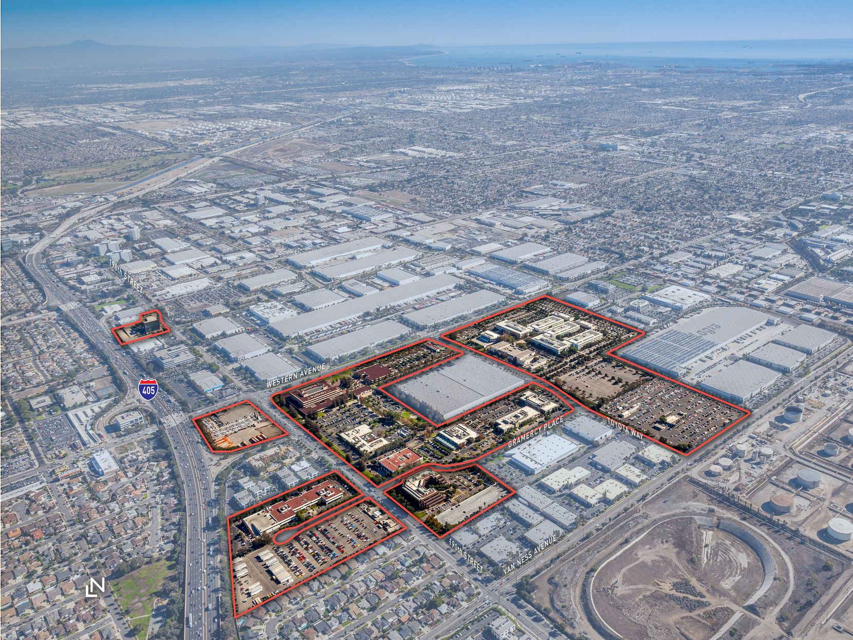 Toyota's old California  campus includes 2 million square feet of buildings.
