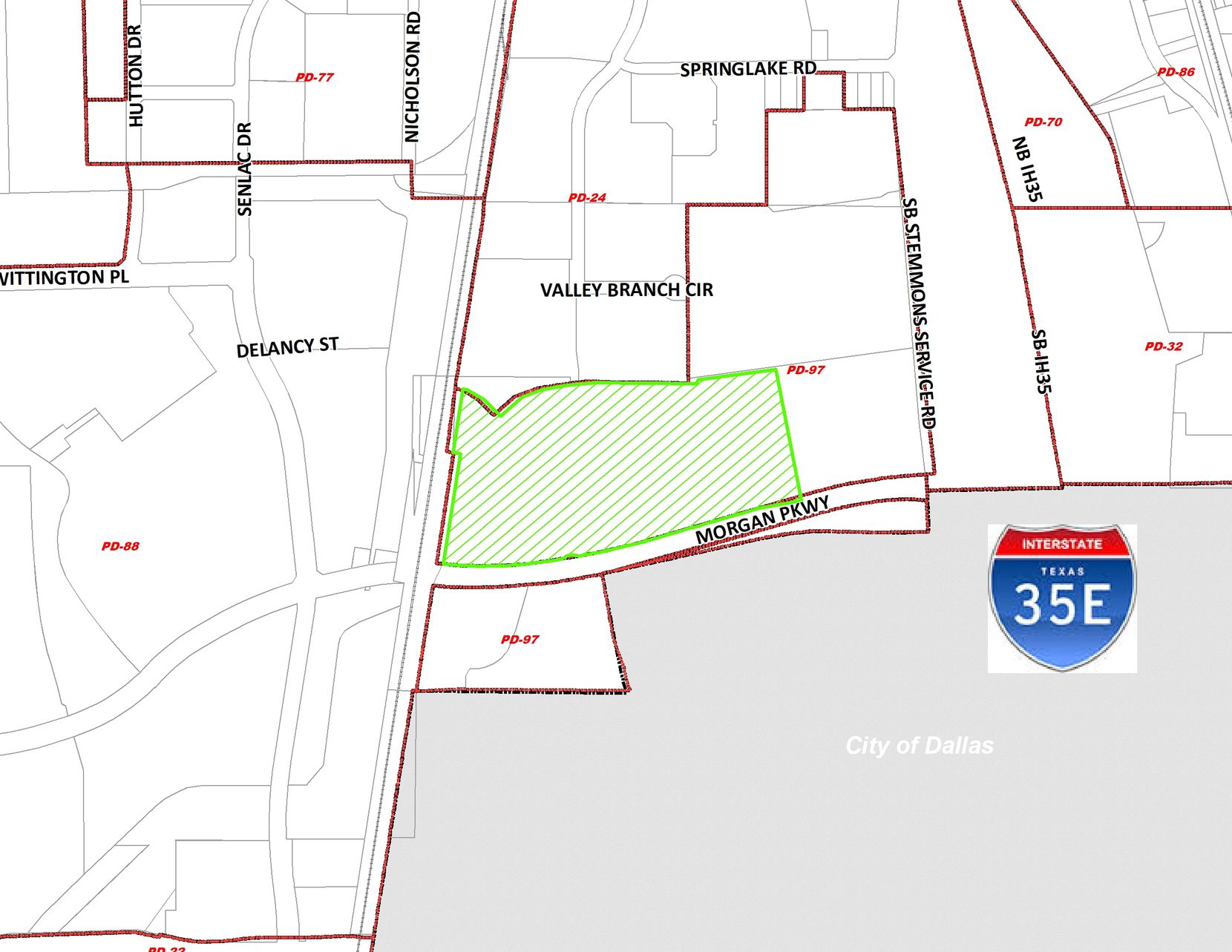 Billingsley is planning the warehouse for a site just west of I-35E.