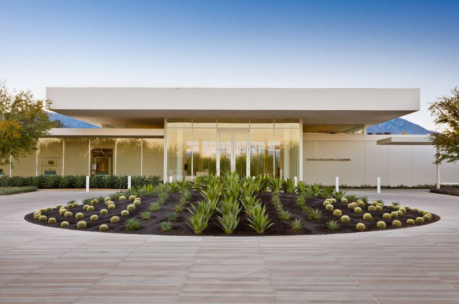 The Sunnylands Center was designed by Frederick Fisher and Partners.