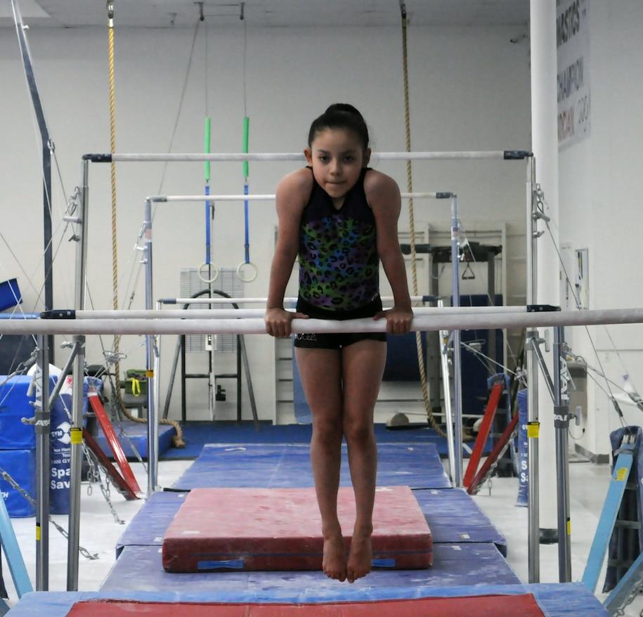 Gabby entrenando el lunes en Plano. Foto de Javier Giribet para Al Día.