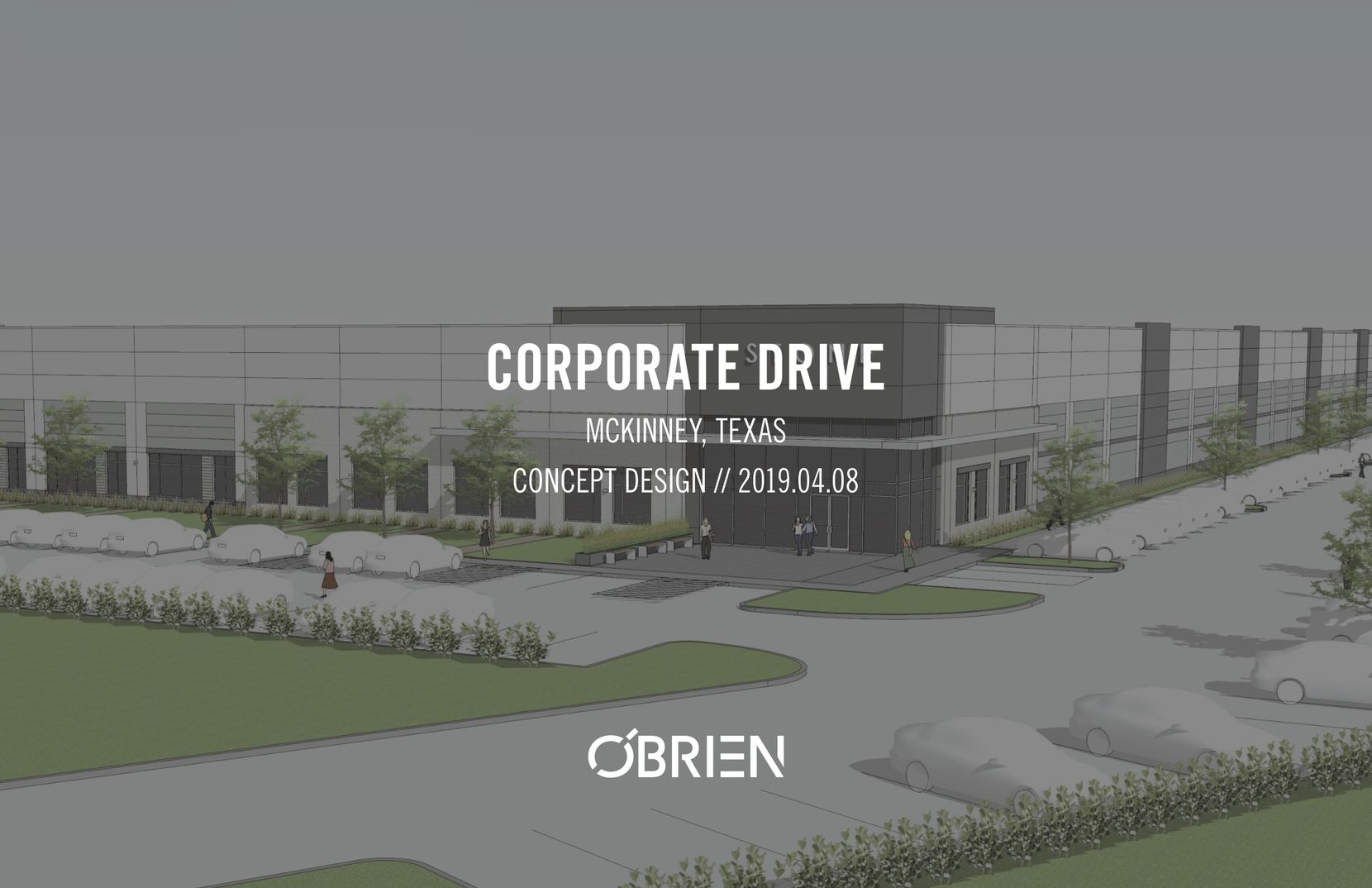 The office and warehouse building will be in the University Business Park in McKinney.